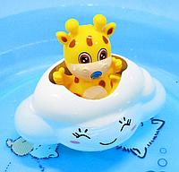 """Игрушка для купания """"Жираф на облачке"""""""