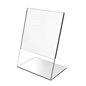 Ценникодержатель вертикальный 5х7см (подставка для ценников).