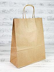 Бумажный крафт-пакет. 25*33*15 см