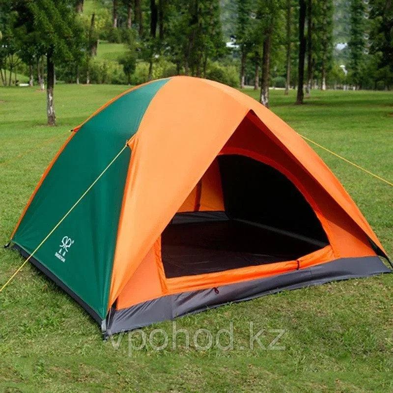 Палатка 3-х местная двухслойная SY-005-2