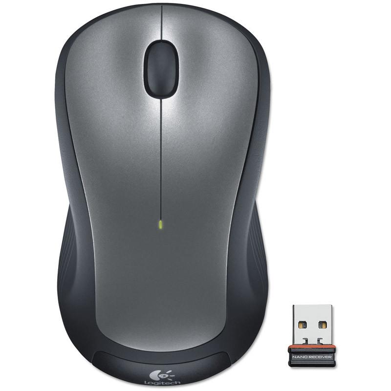 Мышь беспроводная Logitech M310 Silver