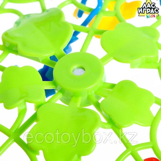 Настольная игра на ловкость «Мартышкин хвост»: рулетка, разноцветные мартышки - фото 2