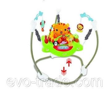 Прыгунки Fitch baby 8913-3 зеленый