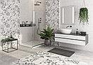 Кафель | плитка настенная 25х75 - Апекс | Apeks светло-серый рельеф, фото 2