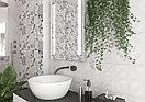 Кафель   плитка настенная 25х75 - Апекс   Apeks светло-серый рельеф, фото 3