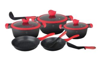 Набор посуды Berlinger Haus Red Stone Line BH-1379 11 пр