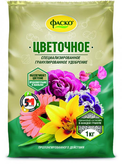 Удобрение минеральное 5М для Цветов 1 кг