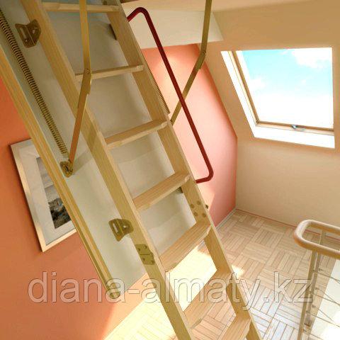 Чердачная лестница 60х120х335 FAKRO LWK Komfort тел.Whats App. +77075705151