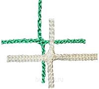 Сетка заградительная 100х100х4 белая/зеленая (мин 100м2)