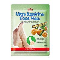 Purederm Маска-носочки для ног Apricot Ultra Repairing Foot Mask