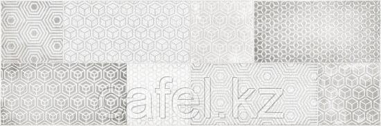 Кафель   Плитка настенная 20х60 Атлас   Atlas серый декор