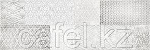 Кафель | Плитка настенная 20х60 Атлас | Atlas серый декор
