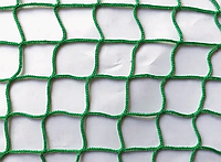 Сетка заградительная 40х40х4 белая/зеленая (мин 100м2)