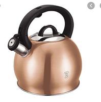 Berlinger Haus 3L чайник со свистком из нержавеющей стали - Rose Gold Metallic