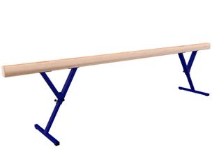 Бревно гимнастическое ЭКО(13,5х10,5) регул. высота 3м