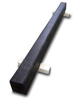 Бревно гимнастическое СТАНД-Т (13,5х16) напольное 3м