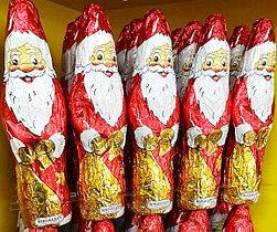 Шоколадные Фигурки Дед Мороз Санта Клаус 60гр.
