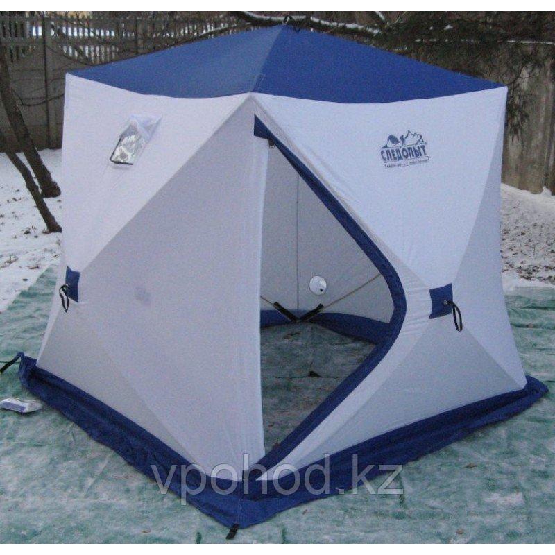 Палатка для зимней рыбалки Следопыт 4х местная 210*210*214см