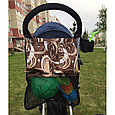 Органайзер сумка  на коляску пломбир, фото 2