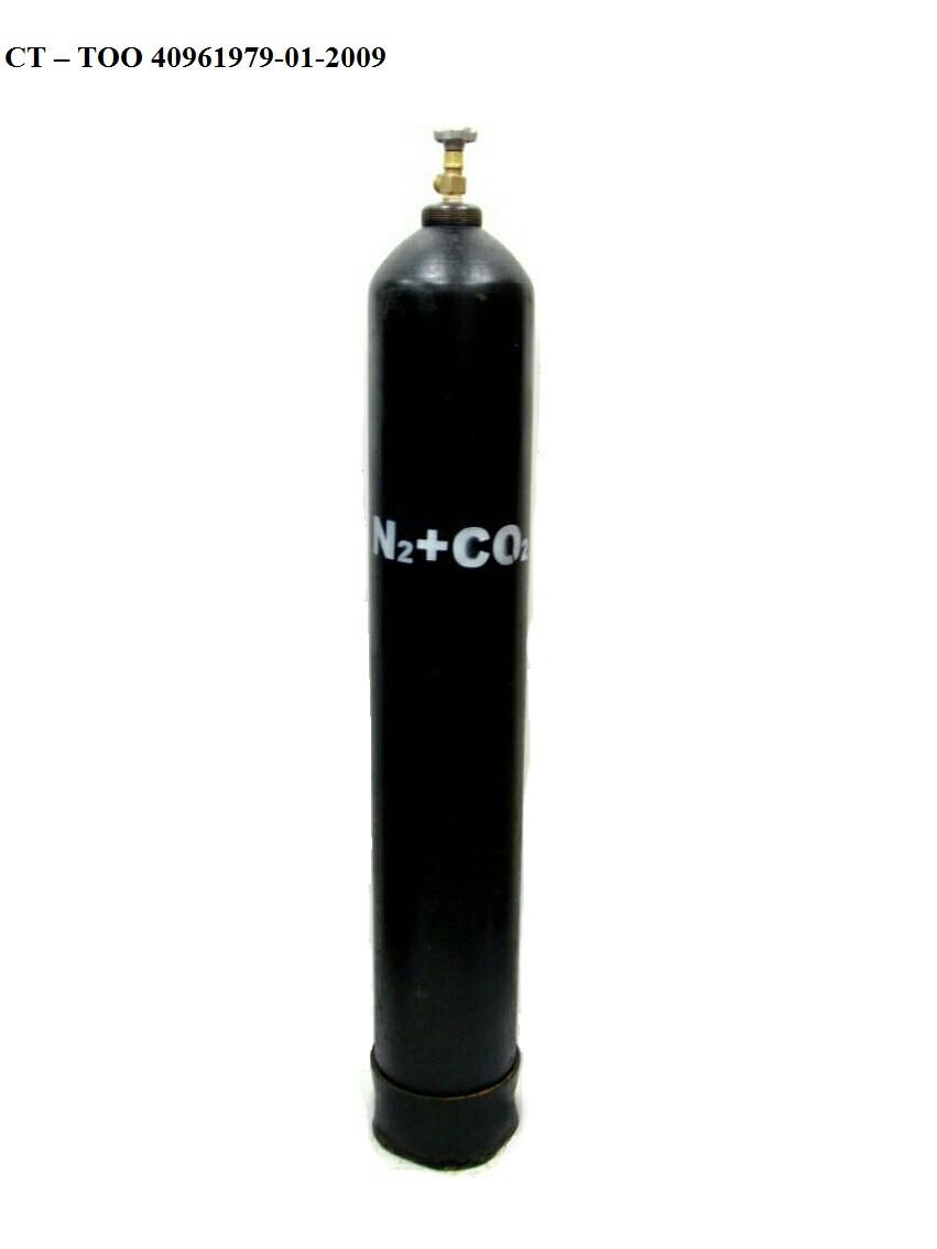 Газовая смесь углекислота с азотом