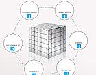 Магнитный Неокуб Серый. Neocube. 216 кубиков. Размер 5 мм. Головоломка. Конструктор. Антистресс., фото 5
