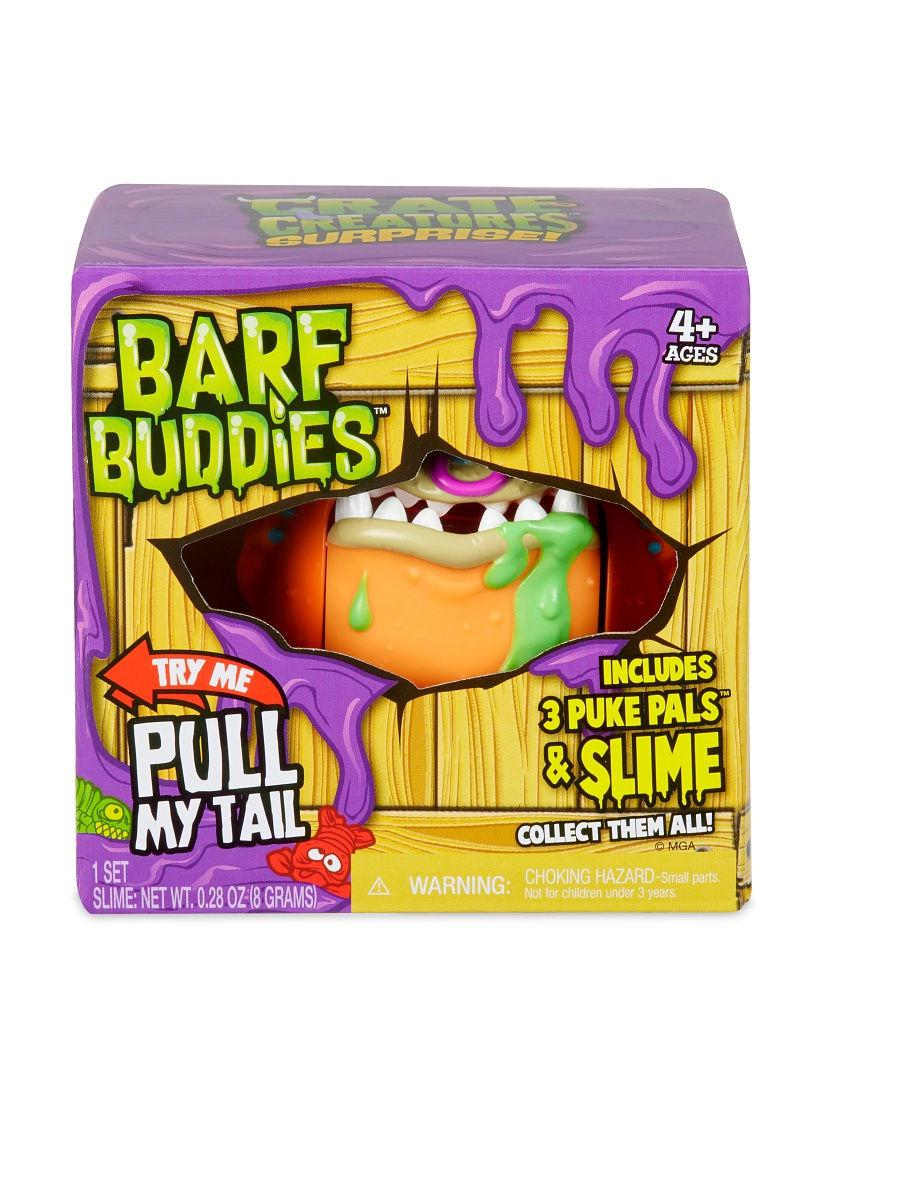 MGA Entertainment / Игрушка Crate Creatures Barf Buddies монстр Грамбл
