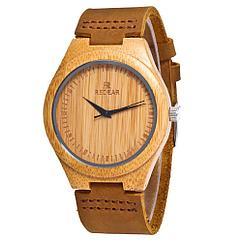 Натуральные Деревянные наручные часы. Гипоаллергенные. Кожаный ремешок. Легкие. Циферблат побольше!
