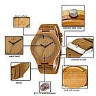 Натуральные Деревянные наручные часы. Гипоаллергенные. Кожаный ремешок. Рассрочка. Kaspi RED., фото 8