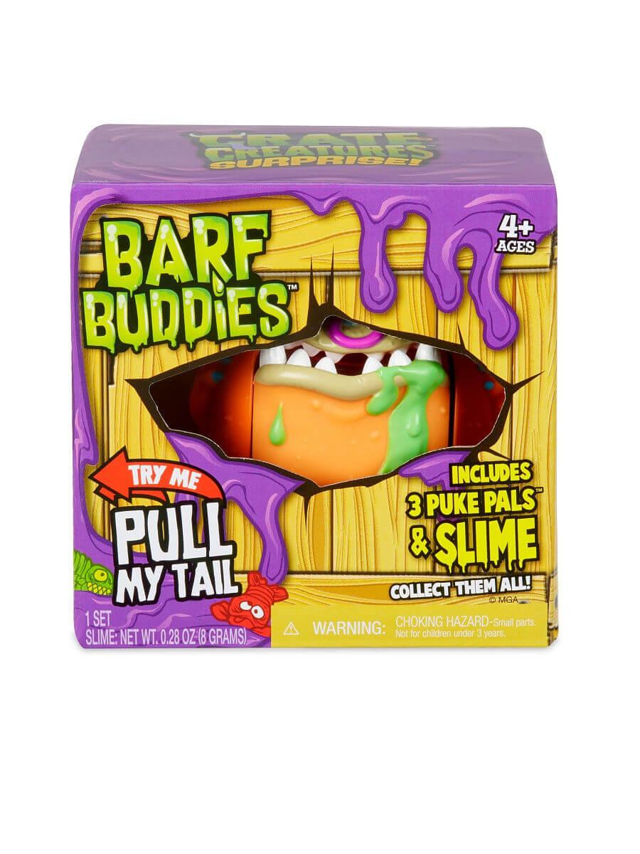 MGA Entertainment / Игрушка Crate Creatures Barf Buddies монстр Мэти