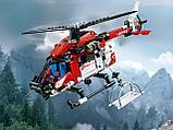 Конструктор LARI Technica Спасательный вертолет 11297 (Аналог LEGO Technic 42092) 325 дет, фото 3