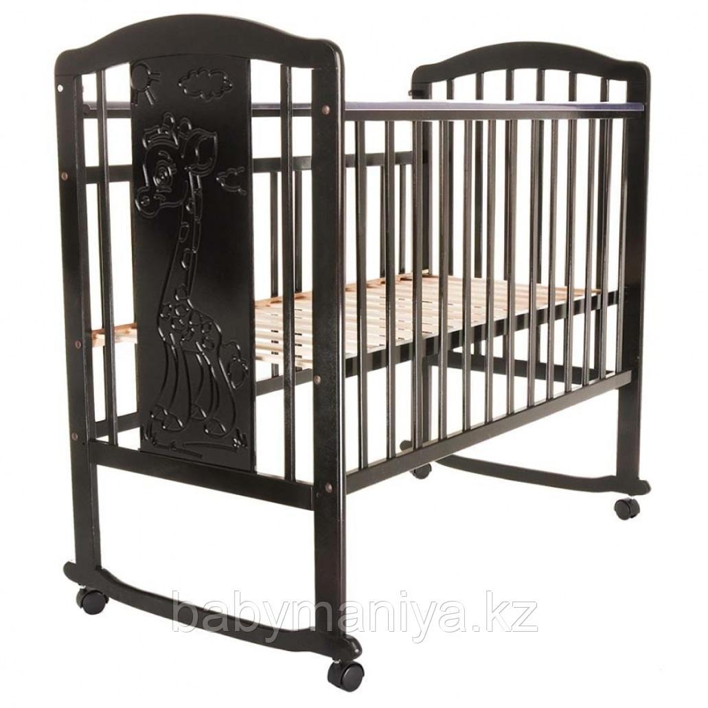 Кроватка детская Pituso Noli Жирафик венге