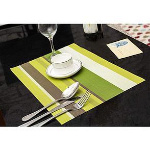 Комплект из 4-х сервировочных ковриков, цвет зеленый. Черная пятница!, фото 2