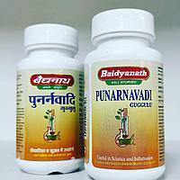 Пунарнавади гуггул - для мочеполовой системы, при подагре, ревматоидном артрите, остеоартрите, радикулите,80т