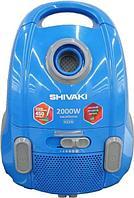 Пылесос Shivaki VCB 0120 синий