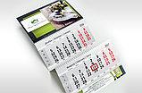 Календари настольные, настенные, квартальные, карманные. Дизайн, изготовление, качественно недорого!, фото 4
