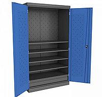 Шкаф металлический для инструмента двухсекционный PROFFI Я1П5 Верстакофф ® 106010