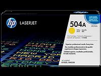 HP CE252A Картридж лазерный HP 504A желтый, ресурс 7000 стр