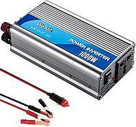 Автомобильный инвертор 12В-220В-1500w