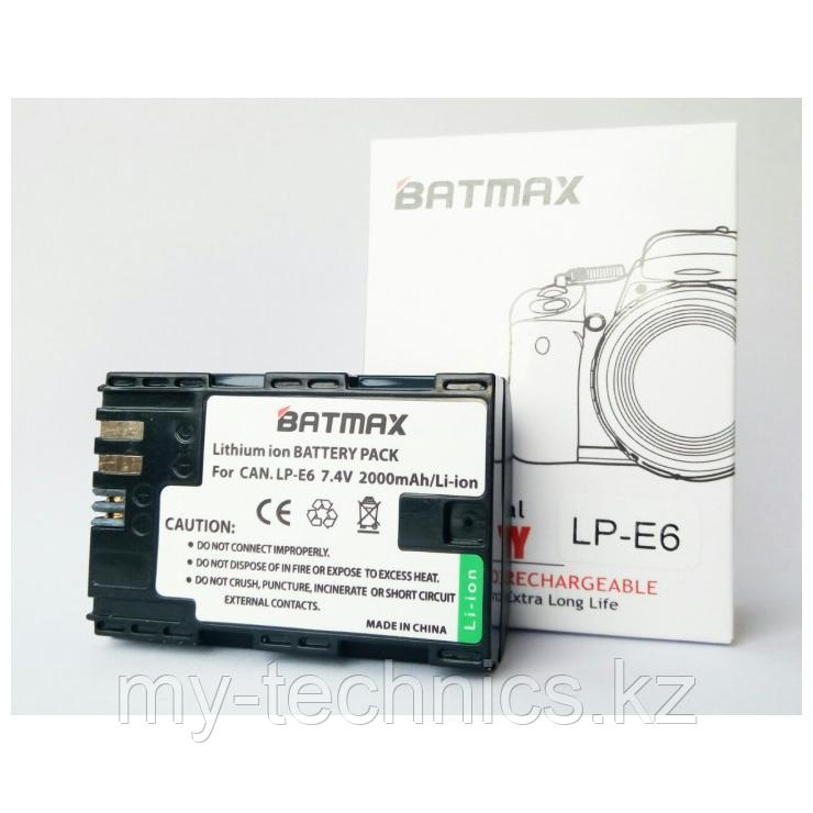 Аккумулятор Batmax LP-E6 для Canon