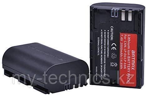 Аккумуляторная батарея Batmax LP - E6 декодированный с чипом