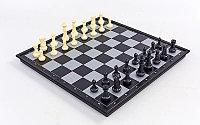 Настольная игра 3 в 1 магнитные (шахматы, шашки, нарды)