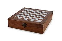 Набор шахмат с покером , 2 колоды, 100 фишек