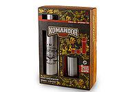 Подарочный туристический набор «Komandor» термос (750 мл), кружка (200 мл) 2 шт