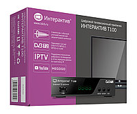 Ресивер(телевизионный приемник) TV mini DVB-T2 ИНТЕРАКТИВ Т100