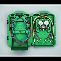 Двухвентильные манометрические коллекторы Refco BM2-3-DS-CLIM