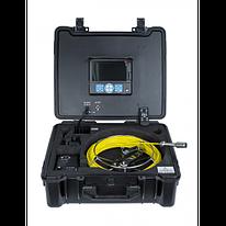 ТВ камера для канализации 3199F-MC со счетчиком расстояния, длина 30 м