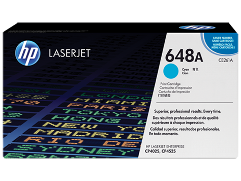 HP CE261A Картридж лазерный HP 648A голубой, ресурс 11000 стр