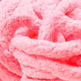 Пряжа фантазийная 100 полиэстер 'Softy plush maxi' 250 гр 22 м розовая гвоздика - фото 3