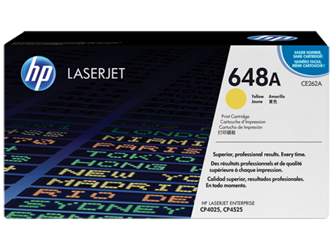 HP CE262A Картридж лазерный HP 648A желтый, ресурс 11000 стр