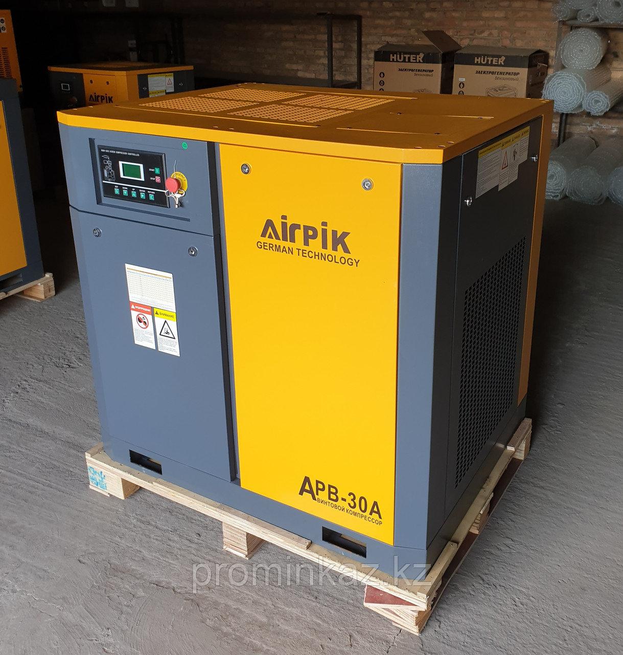 Винтовой компрессор для пескоструя 8-12 атм.